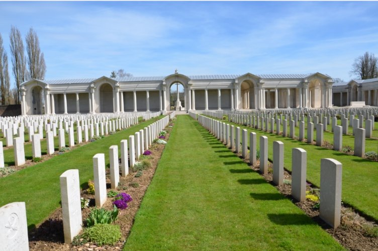 Arras Memorial at Faubourg-D'Amiens cemetery